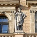 Az egykori Fővámház, a mai Budapesti Corvinus Egyetem főépületének díszítőszobrai I.