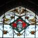 Országház – Főrendiház városi folyosó üvegablakai