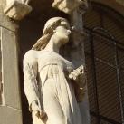 Sóstói Szent Kereszt Temetőkápolna épületszobra I.
