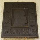 Baross Gábor emléktábla