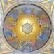 A Szentlélek eljövetele - Fiumei úti sírkert, kupolasir - mozaikkép