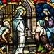 Árpád-házi Szent Margit üvegablakok