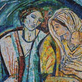 Család - mozaik kompozíció