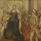 Mária Terézia a pozsonyi országgyűlésen