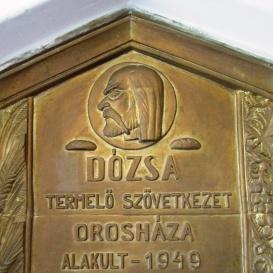 Dózsa György-dombormű