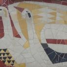 Mozaik állatfigurák I.