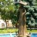 Szeged múzsája-szobor