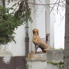 Kutya-szobor