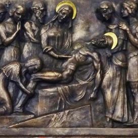 Jézust sírba teszik