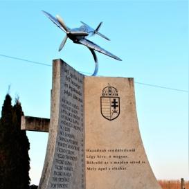 Légitámadás áldozatainak emlékműve