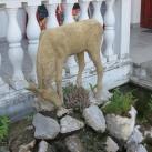 Őzbak-szobor