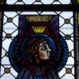Fasori evangélikus templom üvegablakai 3.