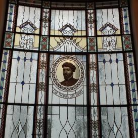 Sir Thomas Gresham üvegablak