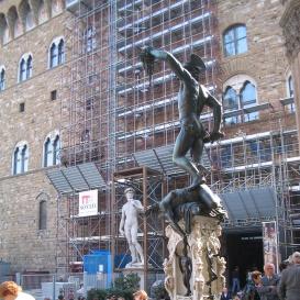 Perseus a Meduza-fejjel