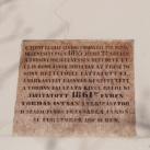 Toronysisak felújításának emléktáblája