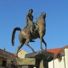 Szent István lovas szobra