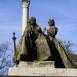 Szent István és Gizella szobra
