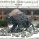Bölény-szobor