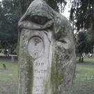 Baumann István (Stefan Baumann) síremléke