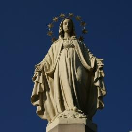 Szűz Mária-szobor