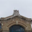 Rákóczi téri vásárcsarnok épületdíszítő szobrai
