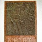 Dr. Nagy Endre emléktáblája