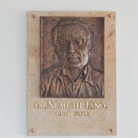 Németh János-emléktábla