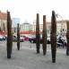 Sarok-sortűz - Az 1989 decemberi áldozatok emlékműve