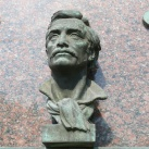 Janko Král' domborműves emléktáblája