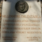 Millenniumi emléktábla