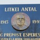 Litkei Antal emléktáblája