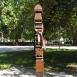 Az 1848-1849-es szabadságharc emlékoszlopa