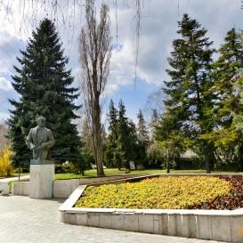 Lehár Ferenc szobra