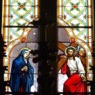 Pécskai római katolikus templom üvegablakai 3.