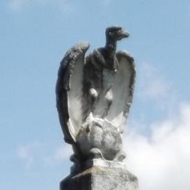 Ostffyasszonyfai hadifogoly tábor temetőjének hősi emlékműve