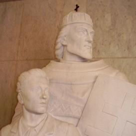 Szent István és tanítványa