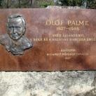 Olof Palme-emlékkő