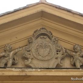 Zichy-címer (Zichy palota épületdíszei II.)