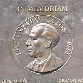 Szabó Lajos-emléktábla