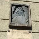 Krúdy Gyula domborműves emléktábla