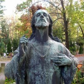Jézus - Lévay Béla síremléke