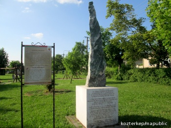 Lengyel menekültek emlékműve