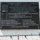 Debreczenyi Gyula emléktáblája
