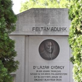 Lázár György síremléke