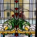 A Napoleon-udvar színes üvegei