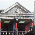 Elvarázsolt kastély egykori (?) kerámiahomlokzata