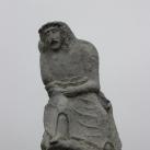 Bánkodó Krisztus-szobor