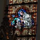 A Rózsafüzér királynéja templom üvegablakai 5.