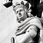 Országház - nyugati homlokzat: Habsburg Albert