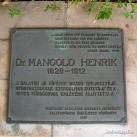Mangold Henrik-emlékkő